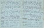 C de B's last letter to his Aunt