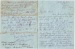 Charles de Berigny's last letter to Auntie Marie