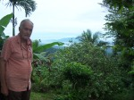 The views from Ralf's property in the Wewak Hills