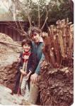 David Augustus Wall & John Bowers in Como, early 1980s
