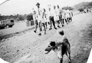 Anzac Day at Maprik 1960