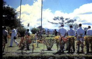 Angoram - Anzac Day Parade 1962